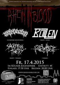 Rhein In Blood 17.04.15
