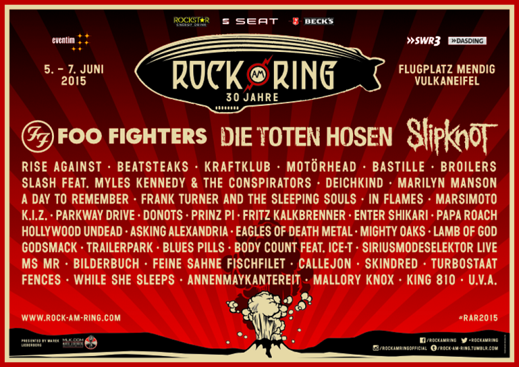 Rock am Ring 2015 Poster