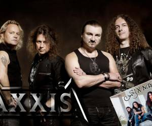 Axxis - Six Magic Tour 2015 Flyer Stand 03.06