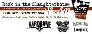 Rock In The Slaughterhouse II 2015 - Flyer