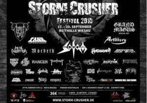 Storm Crusher Festival 2015 stand 13.06