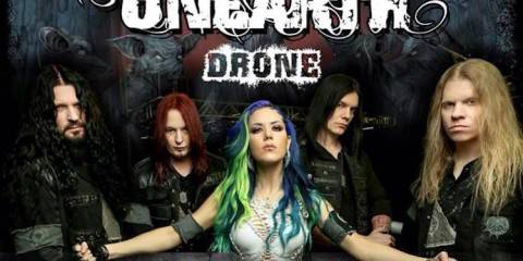 Arch Enemy Unearth Drone Tour 2015