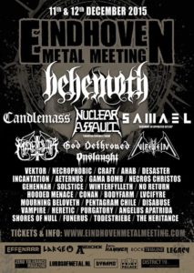 Eindhoven Metal Meeting 2015 Flyer Stand 27.07