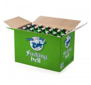 Fucking Hell Bier Karton