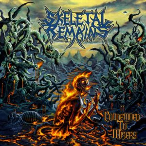 skeletal remains - condemned to misery_final cover  Skeletal Remains - Condemned To Misery skeletal remains condemned to misery final cover