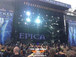 Wacken 2015 - Epica Stagelights