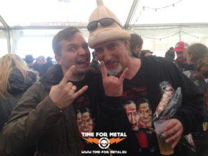 Wacken 2014 - Treffen mit der Legion Of The Luftbumbe