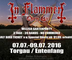 In Flammen Open Air 2016 Logo