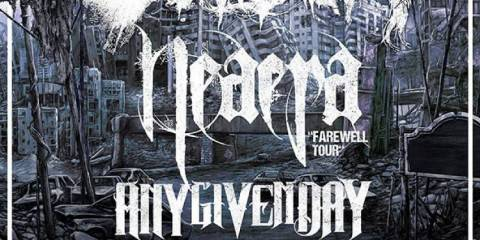Caliban Dezember 2015 Tour Flyer