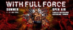 With Full Force 2016 Banner