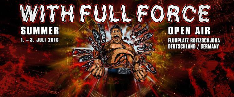 With Full Force Banner 2016 Okt