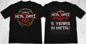 Hamburg Metal Dayz 2016 TShirt