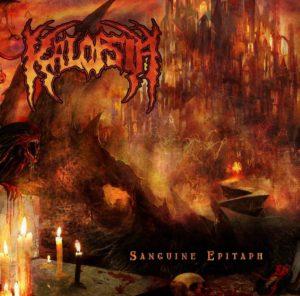 Kalopsia - Sanguine Epitaph - Albumcover