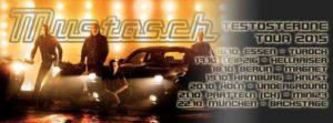 mustasch - tour plakat 2015 live bericht