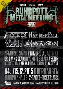 ruhrpott metal meeting FLyer Oktober 2015