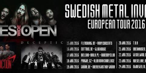 Eyes Wide Open Tour Frühjahr 2016