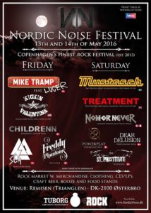 Nordic Noise Festival 2016 Flyer stand 02.12