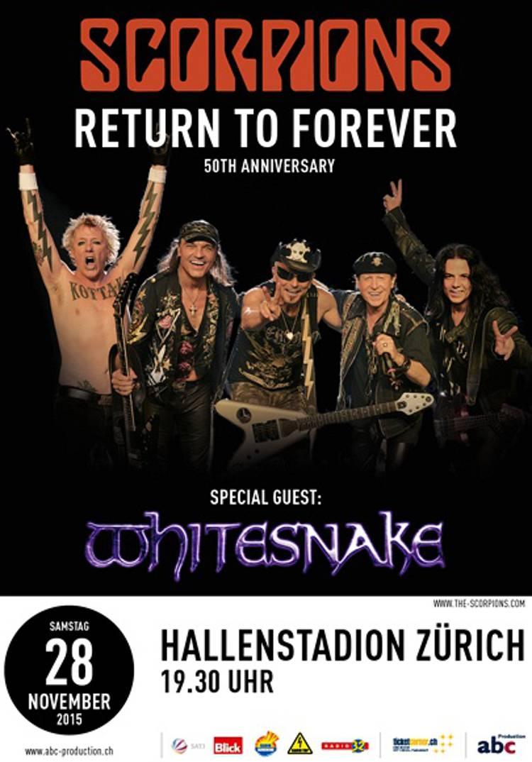 Scorpions – The 50th Anniversary – World Tour am 28.11 ...