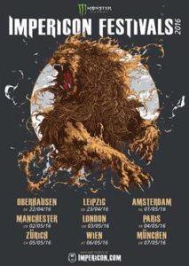 Impericon Festival 2016 Poster