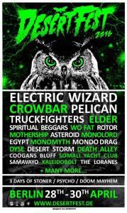 Desertfest 2016 Poster januar