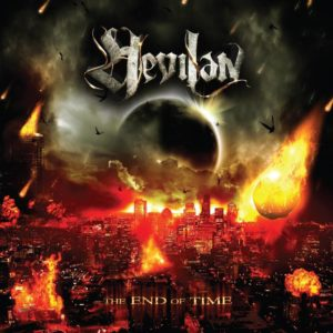 Hevilan - The End Of Time - Albumcover