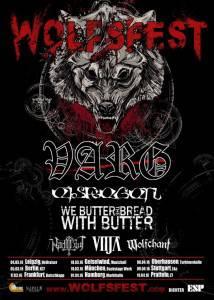 Varg Tour Poster Januar 2016