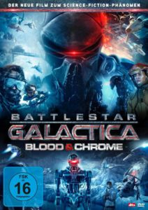 Battlestar Galactica - Blood & Chrome Cover