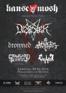 Desaster Bremen 2016 - Hansemosh