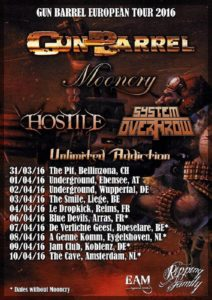 Gun Barrel Tour 2016 Poster
