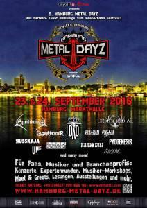 Hamburg Metal Dayz Flyer 28.02.2016