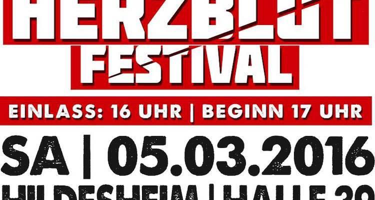 Herzblut Festival 2016 Banner