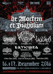 De Mortem Et Diabolum 2016 Poster