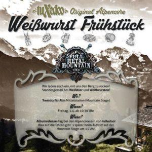 Full Metal Mountain - Weisswurst fruehstueck einladung 2016