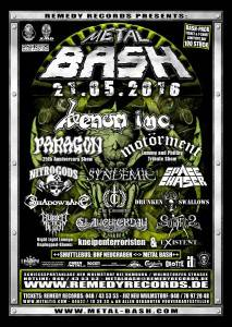Metal Bash Open Air 2016 Flyer