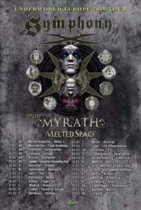 Underworld Europe 2016 Tour Poster 2016