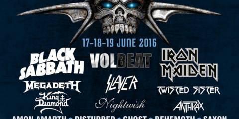 Graspop Metal meeting 2016 Flyer Stand 04.04.16