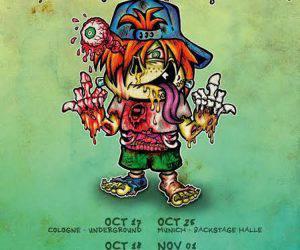 Ugly Kid Joe Flyer 2016 Oktober