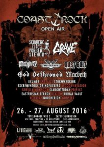 Coast Rock Open Air 2016 - Stand 10.05