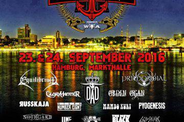 Hamburg Metal Dayz 2016 Stand 30.05
