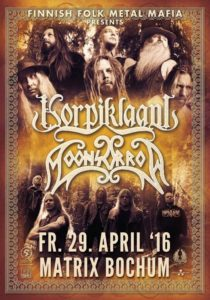 Korpiklaani_Moonsorrow Tour Poster 2016