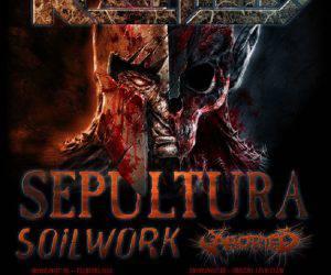 Kreator Sepultura Soilwork Aborted - Tour 2016