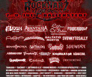 Rockharz 2016 Flyer Stand 04.05.16