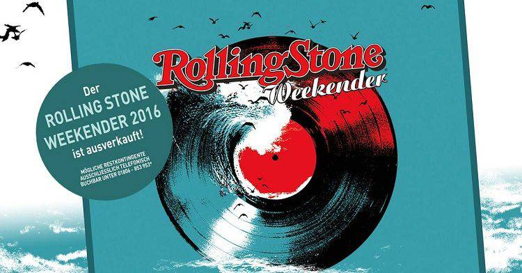 Rolling Stone Weekender 2016 - Sold Out Sign