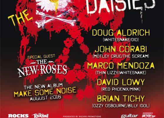 The Dead Daisies - Tourposter 2016