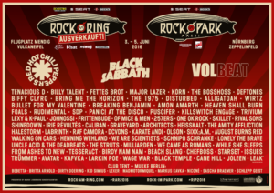 rock am ring und park flyer 2016