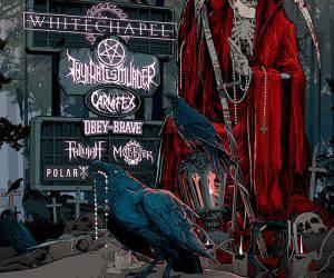whitechapel 2016 flyer tour