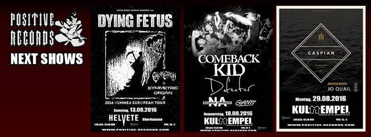 Dying Fetus Helvete 2016 Oberhausen