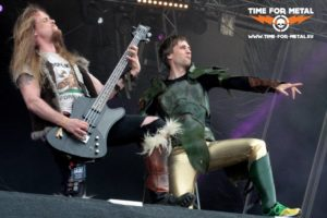 Gloryhammer 3 - RockHarz 2016 - Time For Metal