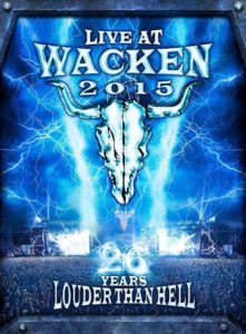 Live At Wacken 2015 - Cover 2016
