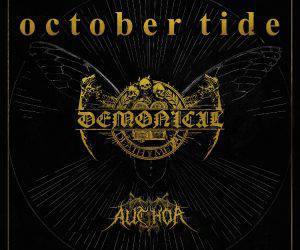 Demonical und October Tide septem 2016 flyer